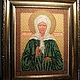 "Beaded icon ""Matrona of Moscow"" (for example)"