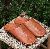 Обувь ручной работы. Ярмарка Мастеров - ручная работа бабуши кожаные. Handmade.