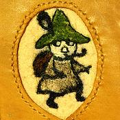 Канцелярские товары handmade. Livemaster - original item Passport cover leather, sniff. cover leather.. Handmade.