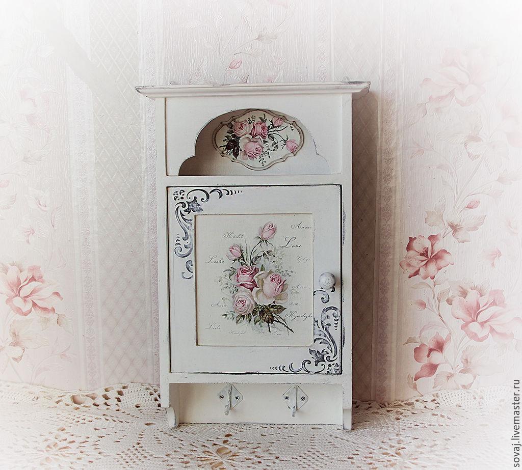 key holder shabby chic 'rose garden', Housekeeper, ,  Фото №1