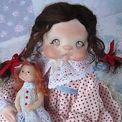 """Куклы и игрушки ручной работы. Ярмарка Мастеров - ручная работа """"Плюшечка"""". Handmade."""