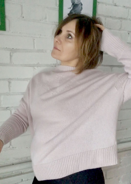 Кофты и свитера ручной работы. Ярмарка Мастеров - ручная работа. Купить Кашемировый свитер оверсайз Рождественское утро. Handmade. Хендмейд