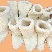 Обувь ручной работы. Ярмарка Мастеров - ручная работа Сапожки из шерсти. Handmade.