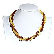 Работы для детей, handmade. Livemaster - original item Amber beads