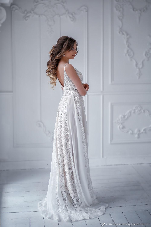 affa7a3cc94 Одежда и аксессуары ручной работы. Свадебное платье  Хиппи . Romantic  Wedding. Ярмарка ...