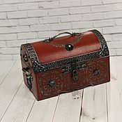 Для дома и интерьера handmade. Livemaster - original item Jewelry boxes:The Madeleine Chest