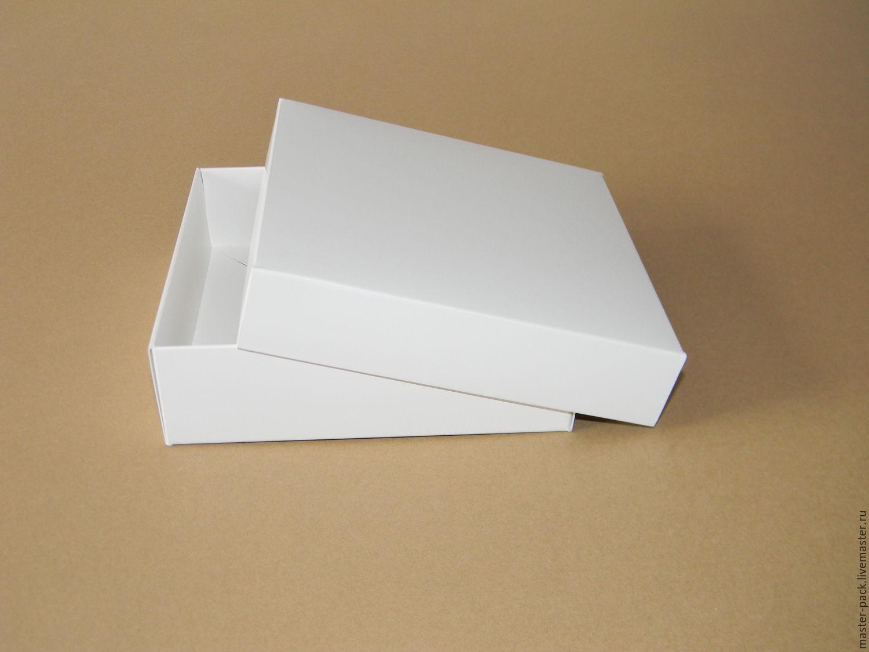 Как сделать квадратную коробочку из картона с крышкой 4