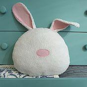 Для дома и интерьера handmade. Livemaster - original item Bunny Pillow snuggle buddy Soft toy. Handmade.