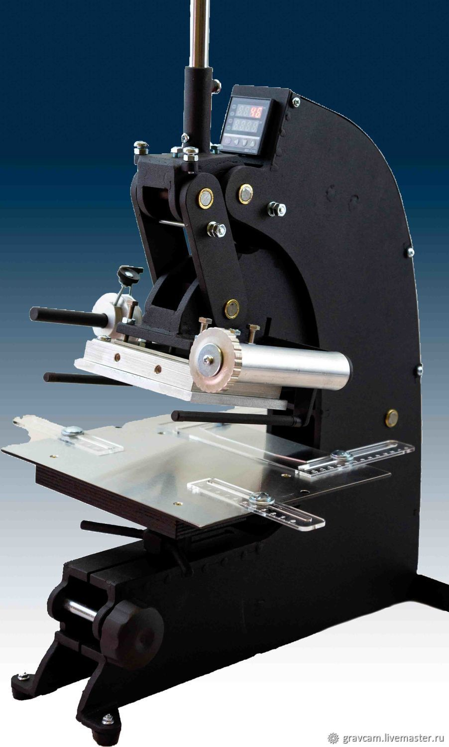 Hot foil stamping press MT-140, Leather Tools, St. Petersburg,  Фото №1