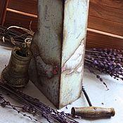 """Для дома и интерьера ручной работы. Ярмарка Мастеров - ручная работа Подставка под ножи """"В Провансе"""". Handmade."""