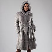 Одежда handmade. Livemaster - original item Mink fur coat Sapphire Classic. Handmade.