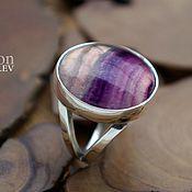 Украшения handmade. Livemaster - original item A silver ring with fluorite.. Handmade.