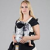 Одежда ручной работы. Ярмарка Мастеров - ручная работа Эргономичные рюкзаки (слинг-рюкзак) из хлопка и льна. Handmade.