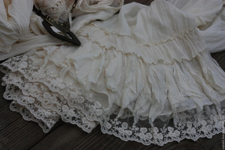50801835fae8cf7 Юбки ручной работы. Ярмарка Мастеров - ручная работа. Купить Нижняя юбка ,  БОХО стиль ...
