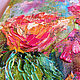 Order Picture with poppies 'Wild Blossom' painting poppies. Multicolor Gallery. Livemaster. . Pictures Фото №3