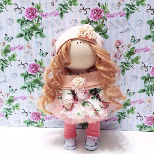 Куклы Тильды ручной работы. Ярмарка Мастеров - ручная работа. Купить Нежная куколка ручной работы.. Handmade.