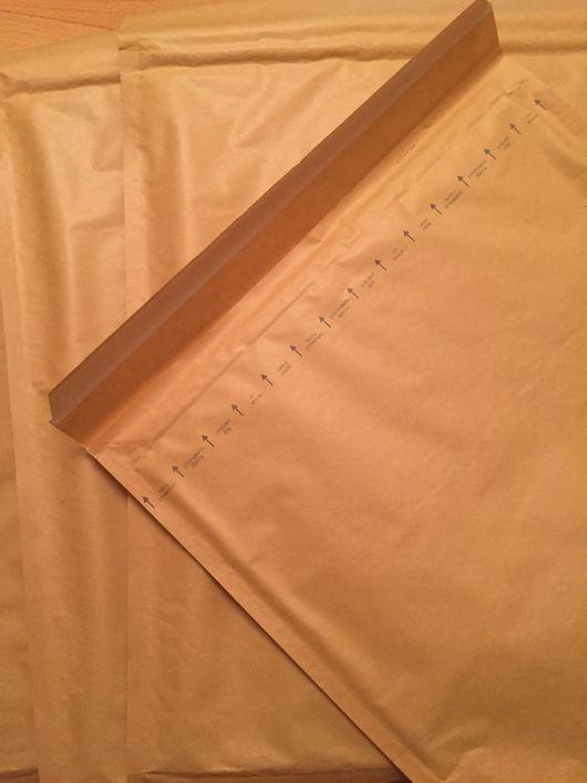 Подарочная упаковка ручной работы. Ярмарка Мастеров - ручная работа. Купить Почтовые пакеты 47,5 см (Высота) х 37 см (Ширина)с пузырьковой пленкой. Handmade.