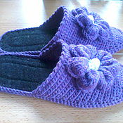 Slippers handmade. Livemaster - original item Slippers - flip flops ( the wool ). Handmade.