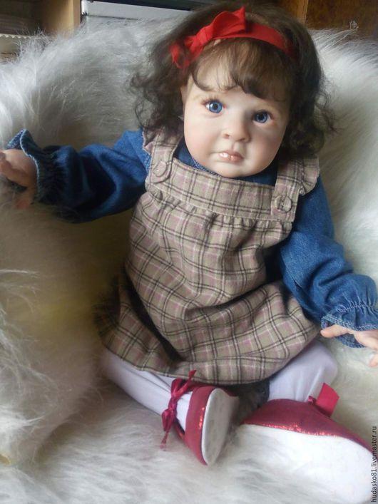 Куклы-младенцы и reborn ручной работы. Ярмарка Мастеров - ручная работа. Купить Аленка. Handmade. Бежевый, Виниловая заготовка