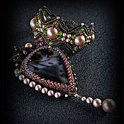 Украшения handmade. Livemaster - original item Set of pendant and bracelet