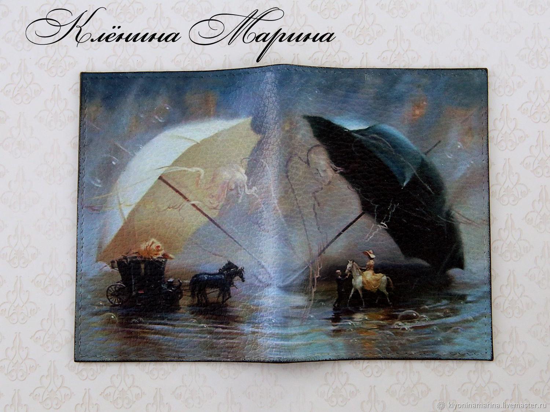 Обложка для паспорта Под крыльями ангелов, Обложки, Москва, Фото №1