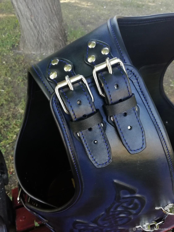 "Moto vest -""WARRIOR"", Mens vests, Tolyatti,  Фото №1"