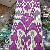 Материалы для творчества handmade. Livemaster - original item Uzbek silk ikat color. The cloth hand weaving of Adras. SM022. Handmade.