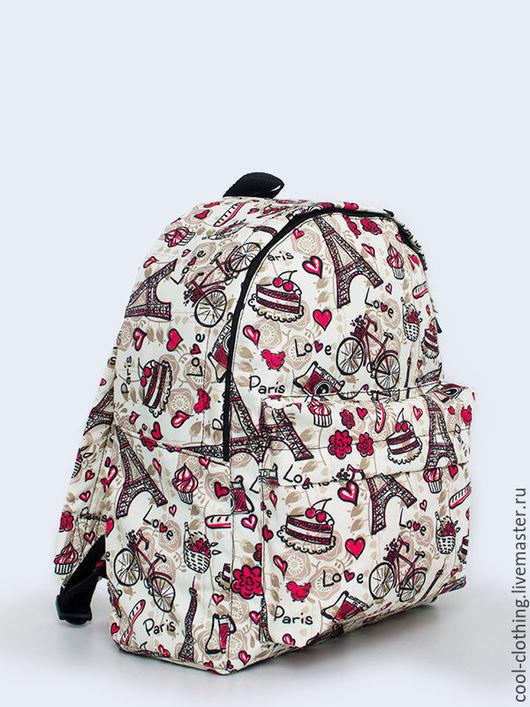 """Рюкзаки ручной работы. Ярмарка Мастеров - ручная работа. Купить Рюкзак """"Париж"""". Handmade. Рюкзак, женский рюкзак, сумка"""