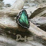Украшения handmade. Livemaster - original item Ring with a triangular Labrador SKIF. Handmade.