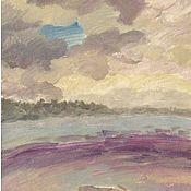"""Картины и панно ручной работы. Ярмарка Мастеров - ручная работа """"Дрейф"""" морской пейзаж Современная живопись. Handmade."""