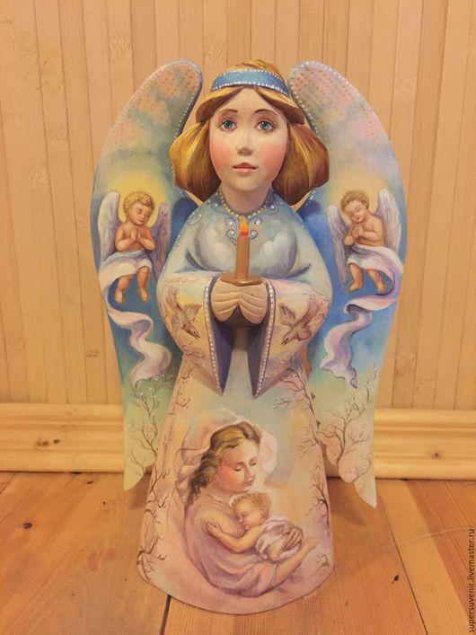 Статуэтки ручной работы. Ярмарка Мастеров - ручная работа. Купить Ангел. Handmade. Комбинированный, сувенир