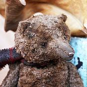 Куклы и игрушки ручной работы. Ярмарка Мастеров - ручная работа Старенький мишка Анис.. Handmade.