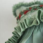 """Одежда ручной работы. Ярмарка Мастеров - ручная работа Корсет шелковый """"Райский сад"""" подгрудный. Handmade."""