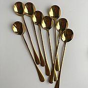 Ложки ручной работы. Ярмарка Мастеров - ручная работа Ложки: десертные с удлиненной ручкой. Handmade.