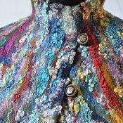 """Одежда ручной работы. Ярмарка Мастеров - ручная работа """"Одержимость"""" жилет. Handmade."""