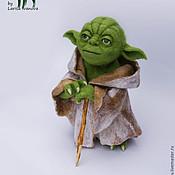 Куклы и игрушки ручной работы. Ярмарка Мастеров - ручная работа Мастер Йода, Звездные войны. Handmade.