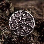 """Украшения ручной работы. Ярмарка Мастеров - ручная работа """"Цветочный узел"""" серебряное кольцо. Handmade."""