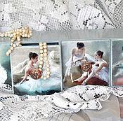Для дома и интерьера manualidades. Livemaster - hecho a mano Regimiento de mini cómoda Ballet. Handmade.