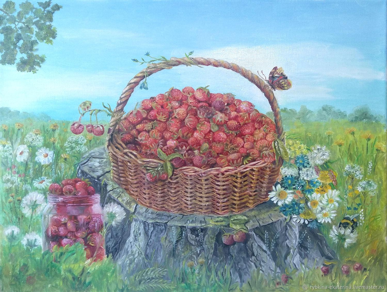 Лесная ягода, Картины, Алексеевская,  Фото №1