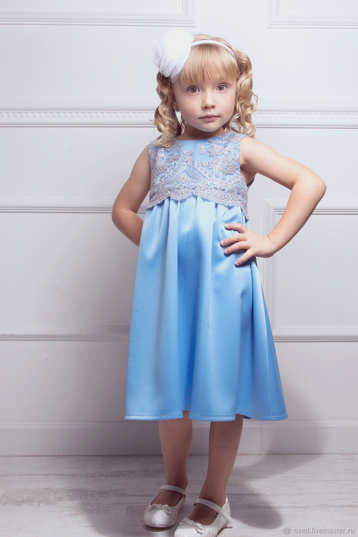 Blue dress 'Little fairy', Dresses, Lyubertsy,  Фото №1