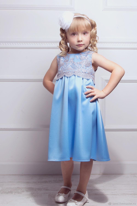 Голубое платье «Маленькая фея», Платья, Люберцы,  Фото №1
