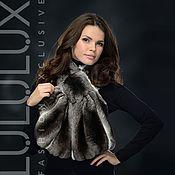 Аксессуары handmade. Livemaster - original item A gift to the woman from chinchilla fur ball