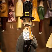"""Куклы и игрушки ручной работы. Ярмарка Мастеров - ручная работа Кукла-колокольчик """"Английский джентльмен"""". Handmade."""