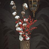 Для дома и интерьера ручной работы. Ярмарка Мастеров - ручная работа Деревянная ваза для цветов и композиций. Handmade.