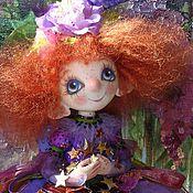 Куклы и игрушки ручной работы. Ярмарка Мастеров - ручная работа Кукла.Ангел.Хранитель удачи.Синяя птица счастья.Ангел в подарок. Handmade.