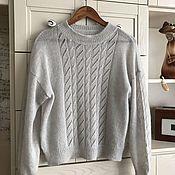 Одежда handmade. Livemaster - original item Kvii women`s mohair jumper. Handmade.