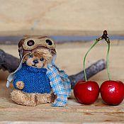 Куклы и игрушки ручной работы. Ярмарка Мастеров - ручная работа Буду летчиком.. (7 см). Handmade.