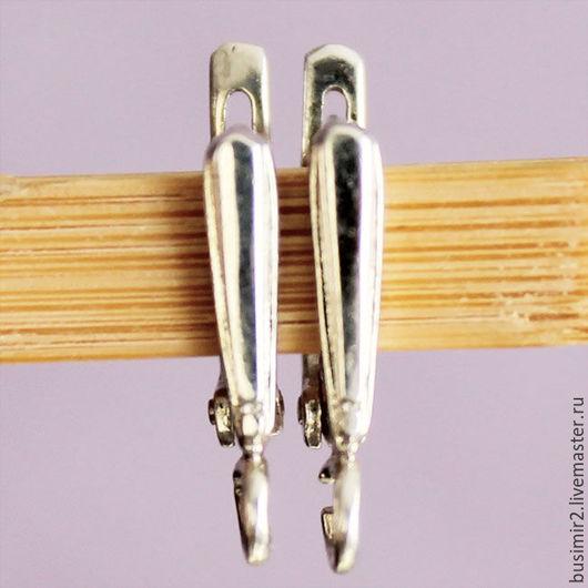 Для украшений ручной работы. Ярмарка Мастеров - ручная работа. Купить Швензы серебро 925 пробы литые Стрела. Handmade.