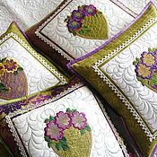 Для дома и интерьера ручной работы. Ярмарка Мастеров - ручная работа 4 подушечки.. Handmade.