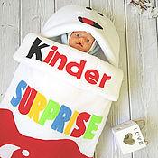 """Конверт для новорожденного """"Kinder"""" демисезон + мини-комфортер"""